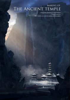 matte painting tutorial - making an ancient temple