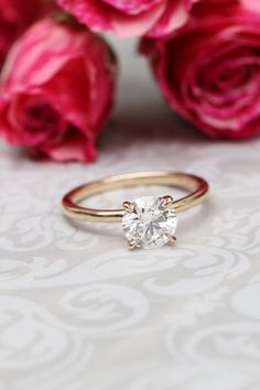Not sure about designing something custom? Pop the question with a stunning lab diamond solitaire, then design your dream ring as a team. Learn more about our Proposal Setting Program. Lab Diamonds, Lab Created Diamonds, Wedding Stuff, Dream Wedding, Wedding Ideas, Conflict Free Diamonds, Dream Ring, Solitaire Engagement, Wedding Ring Bands