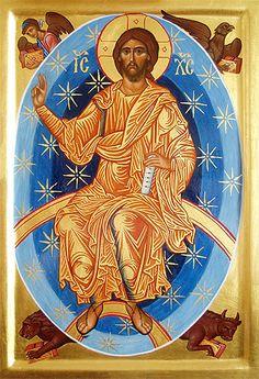 Cristo in Gloria (A. Religious Icons, Religious Art, Religion, Inspirational Bible Quotes, Trinidad, Christianity, Pray, Symbols, Ikon