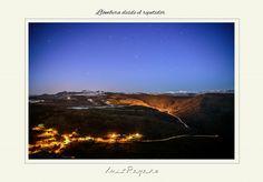 """Segunda foto de la serie """" a 10 bajo cero"""" , Llombera visto desde la Peña del Repetidor (1450m), se puede ver parte del cielo abierto de HVL y la zona donde está el Pozo Emilio."""