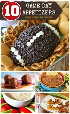 Game Day Recipes: 10 Super Bowl Party Appetizer Ideas