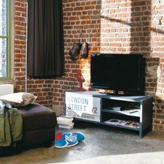 TV-M�bel grau STREET