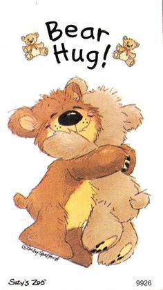 Lot 3386 for a x Suzy's Zoo Sticker Sheet Bear Hug! Teddy Bear Quotes, Teddy Bear Hug, Cute Teddy Bears, Bear Hugs, Hugs And Kisses Quotes, Hug Quotes, Hug Pictures, Teddy Bear Pictures, Tatty Teddy