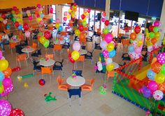 Colorful Kids Party