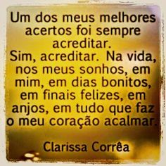 mensagensdiversificadas.com.br: Sempre acreditar...http://www.mensagensdiversificadas.com.br