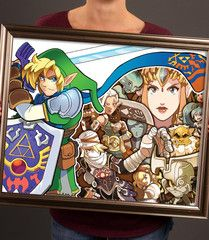 Hyrule Warriors was kinda' the Zelda game I didn't expect to love SO MUCH. Like, Dynasty Warriors is great but was never really my jam. Twilight Princess, Princess Zelda, Hyrule Warriors, Dynasty Warriors, A Beast, Large Prints, Legend Of Zelda, New Art, Pop Culture