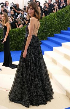 See Every Met Gala 2017 Gown From the Back - Alexa Chung in Diane von Furstenberg