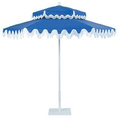 Santa Barbara Patio Umbrella: This belongs in the backyard of my dreams.