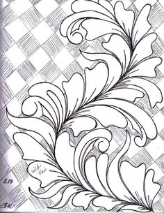 Here's a peek inside my Sketch Book of Quilting Designs. I have been in the mood to draw Wild Vines . Machine Quilting Patterns, Longarm Quilting, Free Motion Quilting, Quilting Rulers, Quilting Projects, Quilt Patterns, Stencil Patterns, Quilting Ideas, Strip Quilts