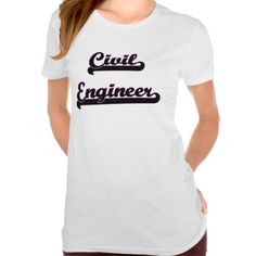 Civil Engineer Classic Job Design T Shirt, Hoodie Sweatshirt