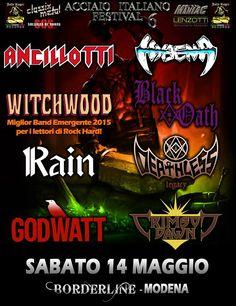 EVENTS: ACCIAIO ITALIANO FESTIVAL 6 @ BORDERLINE (MO)