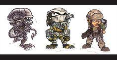 alien vs predator grafika - Szukaj w Google