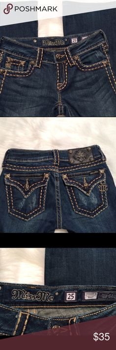 Miss Me Bootcut Jeans 25x32 Miss Me Bootcut Jeans 25x32. These jeans are in great shape. Miss Me Jeans Boot Cut