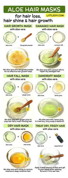 natural hair care tips aloe vera