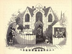 Vintage Ephemera: Children's book illustrations