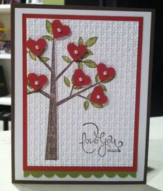 Valentine Card for January 2012 Class.  This was inspired by many I saw online.  http://www.stampinup.net/esuite/home/jennyhobbs/