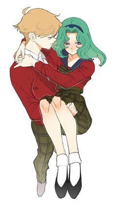 .haruka and michiru