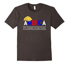 Men's Trump America T-Shirt - It's Going to be yuge 2XL A...