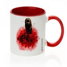 Mug Alien Chestburster Rouge. Kas design, Distributeurs de produits originaux.