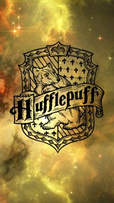Hufflepuff Phone background/wallpaper. Has hufflepuff