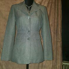 NICE VINTAGE DRESSY JACKET Vintage jacket w/patch on sleeves Jackets & Coats