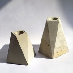 Inspired by the modern landscape and materials of New York City, Foundaciun hand casts their concrete planters and candle holders out of their interdisciplinary design studio. As the concrete dries, natural variances occur, creating beautiful striations that make each piece absolutely unique.
