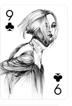 Playing Cards - Nine Of Clubs, Fashion Playing Cards by Connie Lim - playingcards, playingcardsart, playingcardsforsale, playingcardswithfriends, playingcardswiththefamily, playingcardswithfamily, playingcardsgame, playingcardscollection, playingcardstorage, playingcardset, playingcardsfreak, playingcardsproject, cardscollectors, cardscollector, playing_cards, playingcard, design, illustration, cardgame, game, cards, cardist