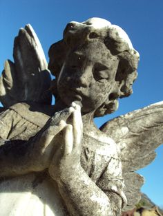 Angel child from Murrurundi Cemetary, Australia