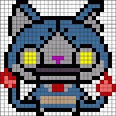 アイロンビーズ図案(ロボニャン)1.jpg 411×411ピクセル