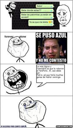 Memes chistosos en español: Nunca me cansaré de este tipo de decepciones →…
