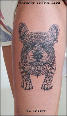 Bulldog Tattoo.....
