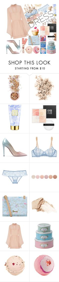 """Dreamy Dresses"" by michal100-15-4 ❤ liked on Polyvore featuring In Your Dreams, NARS Cosmetics, AERIN, Givenchy, Prada, STELLA McCARTNEY, Deborah Lippmann, Harrods, Emilio Pucci and Andy Warhol"
