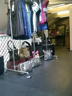 More tops and purses
