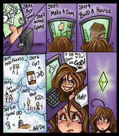 Sims addiction by Harpyqueen on DeviantArt