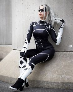 """I had the honor of recreating Black Cat for a new episode of I had the honor of recreating Black Cat for a new episode of Get the new """"Marvel's Spider-Man"""" DLC October… Catwoman Cosplay, Cosplay Gatúbela, Cosplay Marvel, Cosplay Outfits, Best Cosplay, Cosplay Girls, Cosplay Costumes, Cosplay Style, Superhero Cosplay"""