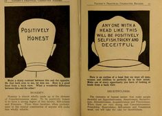 These Pages from a 1902 Weird Phrenology Book Can Help You Ascertain a Person's Character by the Shape of Their Features