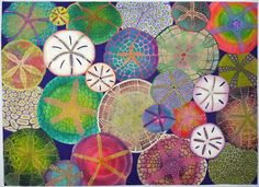 Ooooh man obsessed with these sand dollars too!!!  betty busby--fine art in fiber