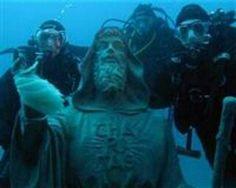 SUALTI Gazetesi   3,5 tonluk su altı heykeli kayboldu http://www.sualtigazetesi.com/?p=12435