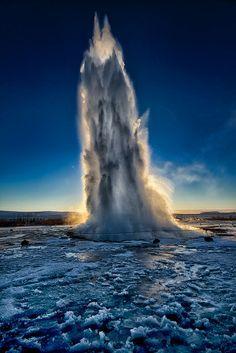 Geysir - Iceland.