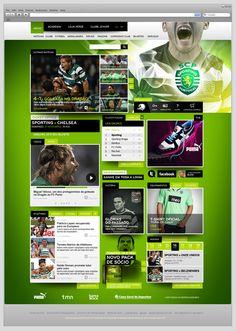 Sporting Clube de Portugal by Jorge Olino, via Behance