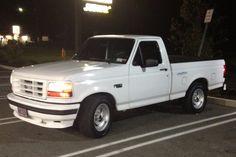 I love my 1994 ford lightning We both got them factory rims too.
