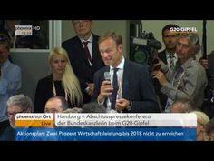 G20 Gipfel  Angela Merkel gibt Abschlusspressekonferenz am 08 07 2017