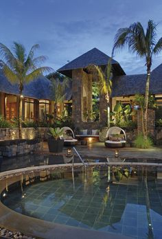 PIN TO WIN A CLARINS GIFT BOX - Spa by Clarins - Royal Palm, Mauritius