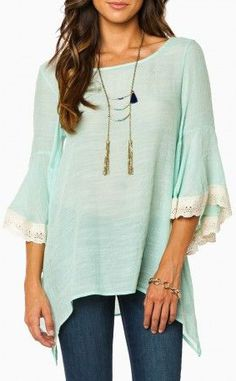 Sheree Blouse-love the style but not the color.