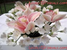 orchid flower tutorial