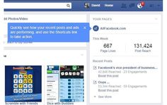 Facebook Adds 'Your Pages' Module to Timelines of Page Administrators