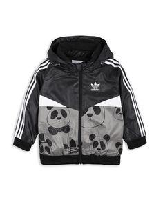Adidas Jacket x Mini Rodini Panda Windbry, Babies & Kids