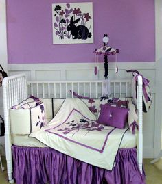 See our darling purple kids rooms. Take an additional 10% with coupon Pin60 at www.CreativeBabyBedding.com
