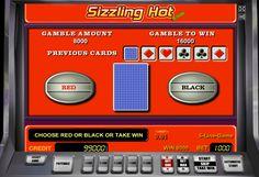 Игра на удвоение на игровом автомате Сиззлинг Хот