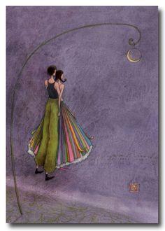 BOISSONNARD Les amoureux au clair de lune                                                                                                                                                                                 Plus